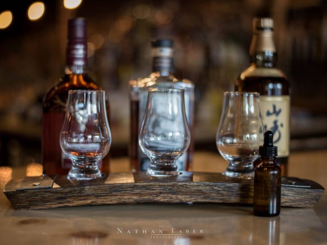 "Say ""Cheers!"" to crafted bourbons and whiskeys at The Charred Oak Tavern"